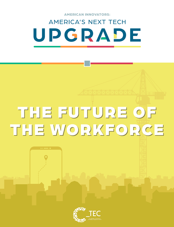 America's Next Tech Upgrade - Workforce Report Cover