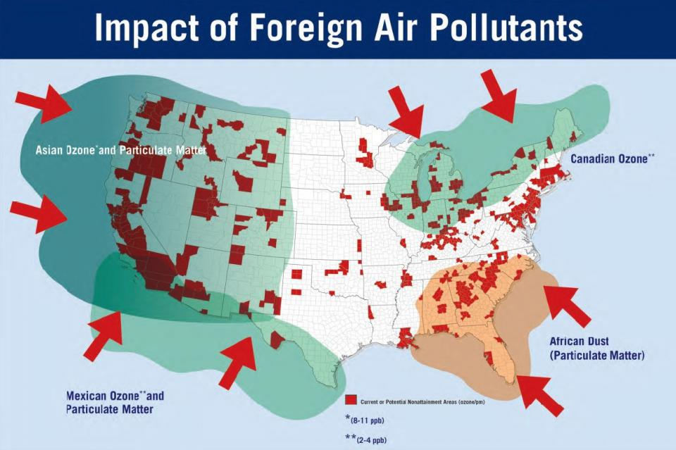 Air Quality Map Usa Map Usa Map Images