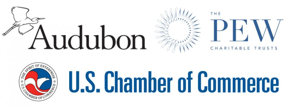 Audubon, Pew, USCC logos