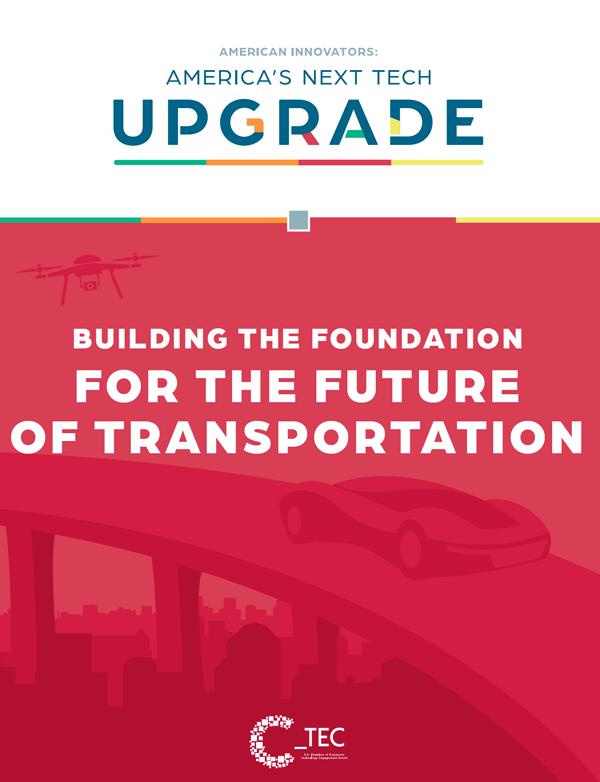 America's Next Tech Upgrade - Transportation Report Cover