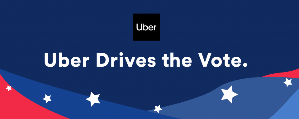 Uber drive to the polls