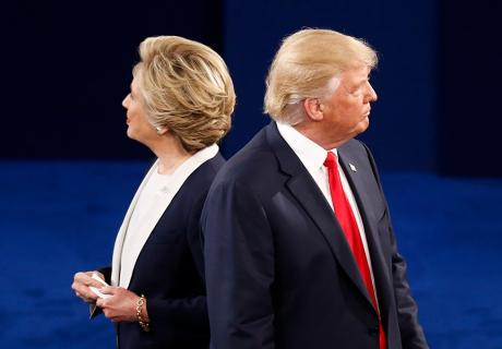Presidential Debate: Trump and Clinton
