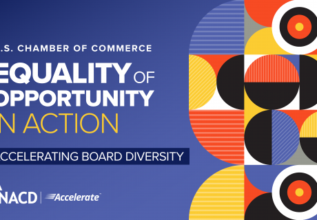 Equality of Opportunity In Action: Accelerating Board Diversity