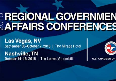 2015 Regional Government Affairs conferences banner