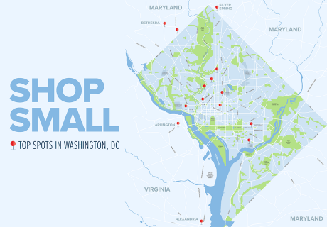 Shop Small 2019 Map
