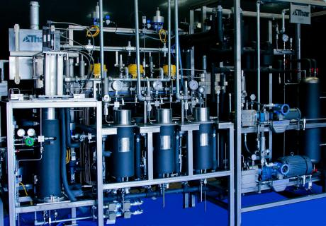 Supercritical fluid extraction equipment.