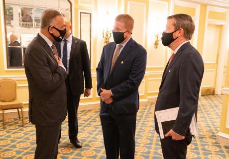 Iraqi PM Visit Aug 2020