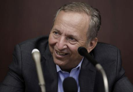 Larry Summers, Harvard professor and former U.S. Treasury secretary, at a Bank of Japan event.