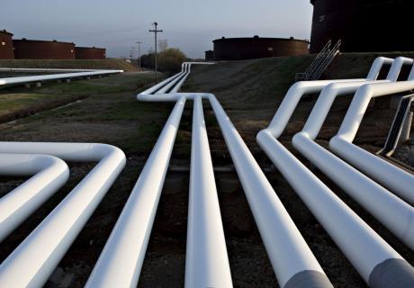 Pipelines in Cushing, Ok.