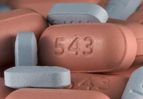 Tablets of Zocor generic Simvastatin and Zoloft generic Sertraline.