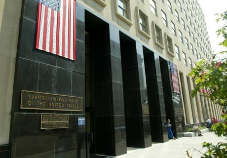 Entrance to the Export-Import Bank