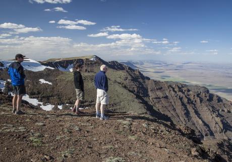 Steens Mountain in eastern Oregon.