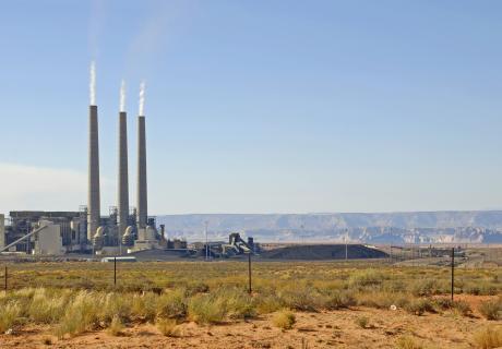 Factory, Arizona, Environment, Fumes, Page - Arizona