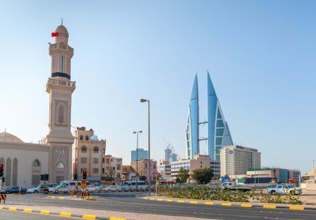 Shaikh Hamad Causeway, Manama, Bahrain.