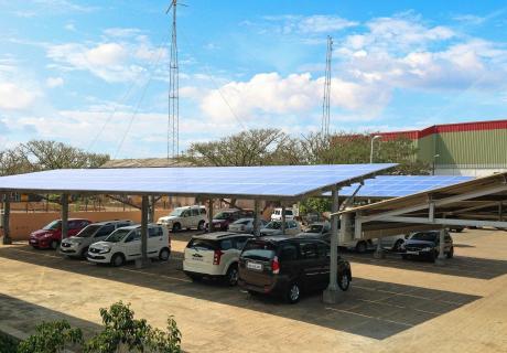 solar power at mahindra igatpuri plant