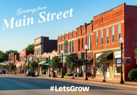 Postcards from Main Street on Trade