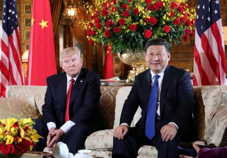 President Trump welcomed President Xi at his Mar-a-Lago estate, Carlos Barria/Reuters.