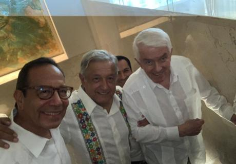 U.S. Chamber of Commerce President and CEO Tom Donohue hosted the U.S.–Mexico CEO Dialogue in Mexico in April with President Andrés Manuel López Obrador to drive passage of the USMCA.