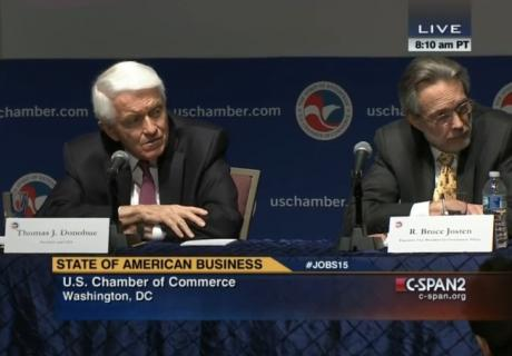 C-Span coverage of press conference