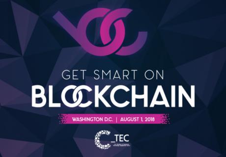 Blockchain event banner
