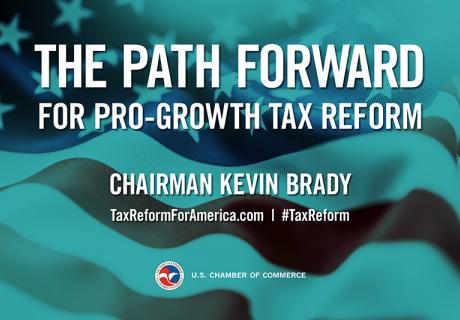 Tax Reform Event Graphic