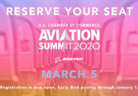 Reserve Your Seat for the Aviation Summit 2020. Event Date: March 5, 2020
