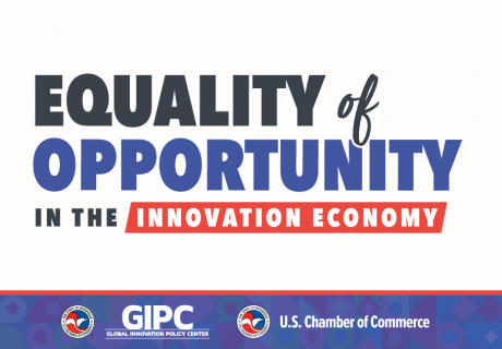 GIPC Equality of Opportunity in the Innovation Economy Conference event graphic