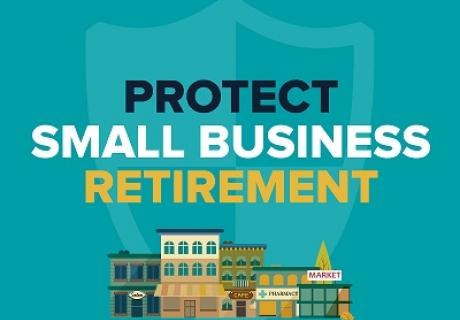 Protect Small Business Retirement podcast banner
