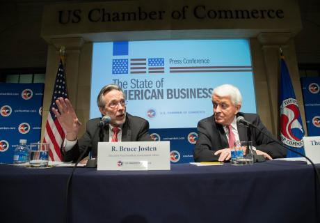 Bruce Josten and Tom Donohue