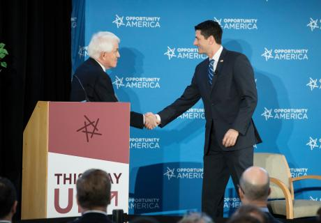Tom Donohue and Paul Ryan