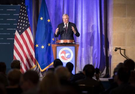 Michel Barnier Addresses the U.S. Chamber