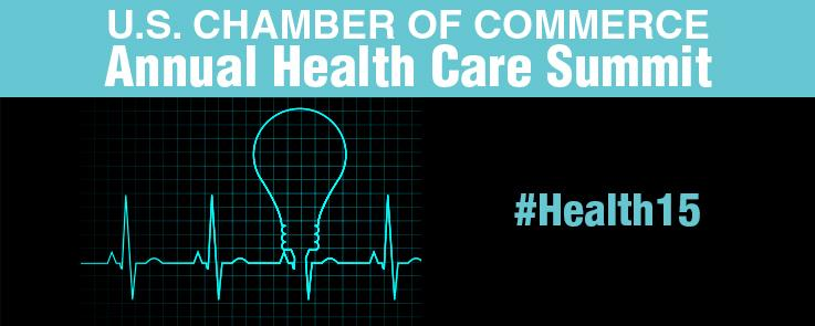 2015 Health Care Summit event banner
