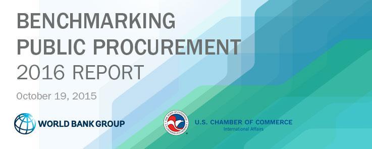 World Bank Procurement Report 2015 event banner