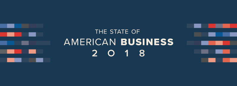2018 State of American Business banner