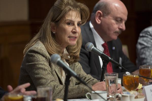 U S  Chamber of Commerce Hosts Dr  Alia Hatoug Bouran