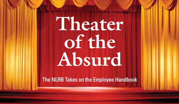 NLRB Theater of the Absurd report cover image