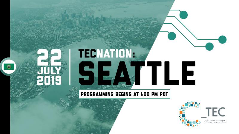 Seattle TecNation Event Key Graphic