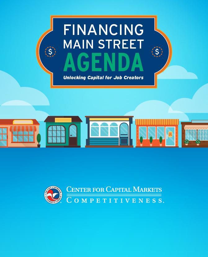CCMC_FinancingMainStreet_Agenda.