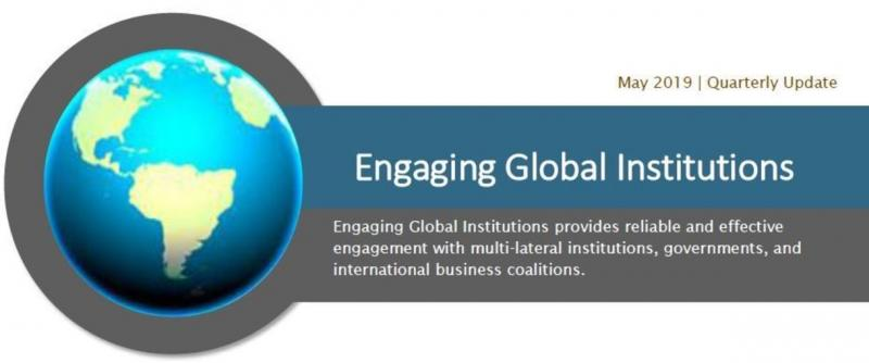 Global Policy Engagement Q1 Update