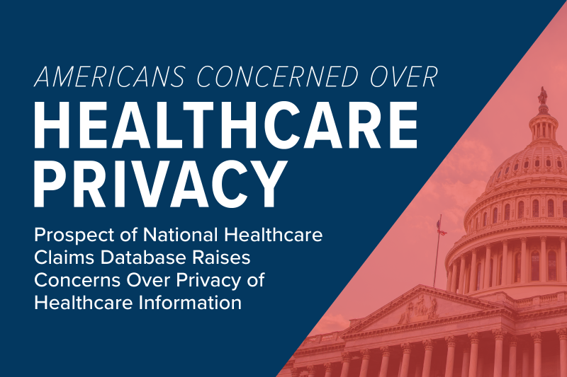 """Title graphic for the post """"Americans concerned over healthcare privacy"""""""