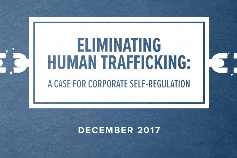Human Trafficking Report Graphic