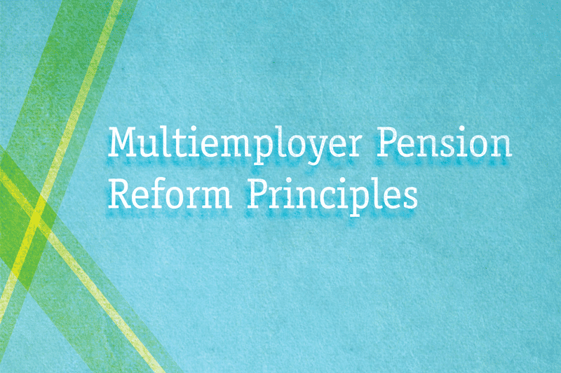 Multiemployer Pension Principles Report image