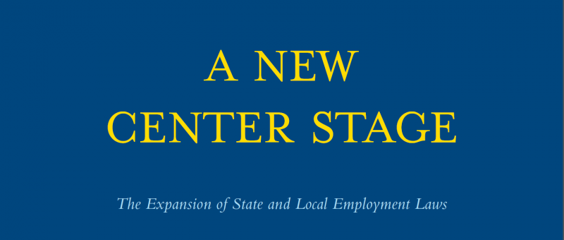 A New Center Stage