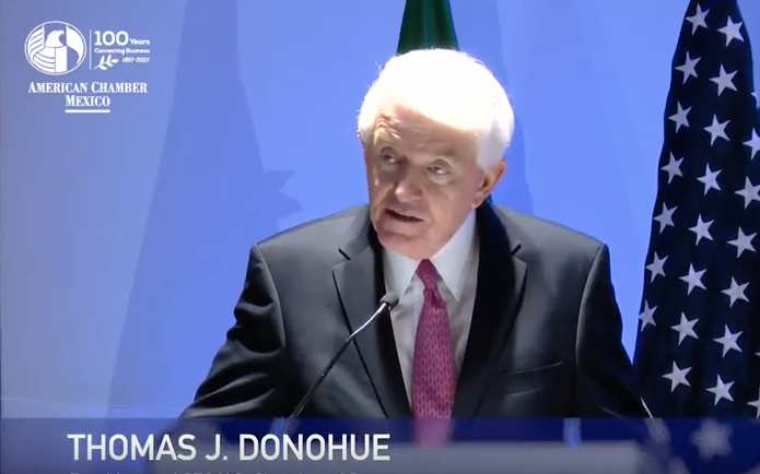 Tom Donohue's address to AmCham Mexico on NAFTA