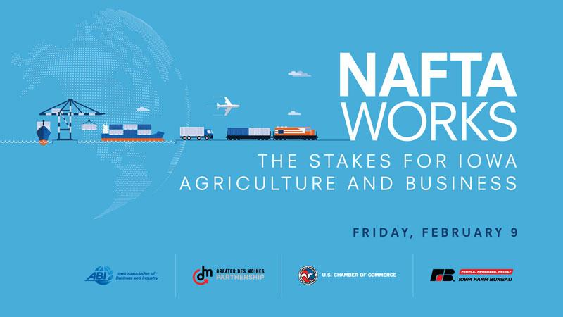 NAFTA Works Iowa Event Graphic
