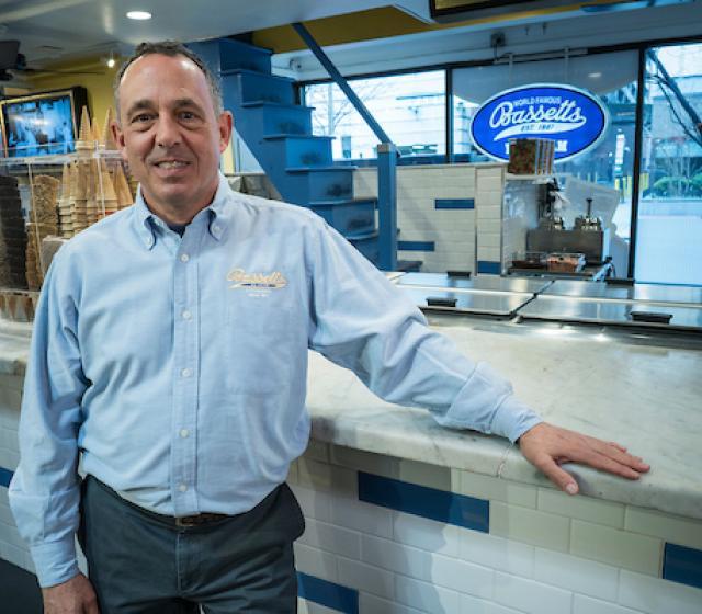 Headshot of Michael Strange, Owner of Bassetts Ice Cream