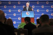 U.S. Chamber President and CEO Thomas J. Donohue delivered the 2013 State of American Business address.