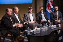 The U.S. Chamber of Commerce Foundation hosted the Data Driven Innovation in Transportation event with executives from Uber, RideScout, and Arlington, Virginia County government.