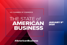 State of American Business 2020 banner