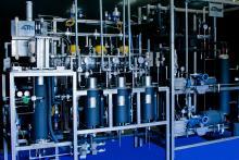 Supercritical fluid extraction equipment.